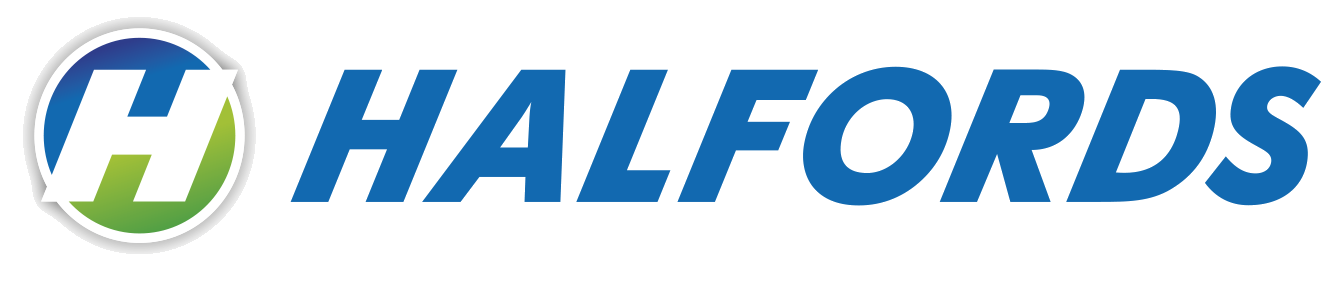 Logo Halfords zonderpayoff